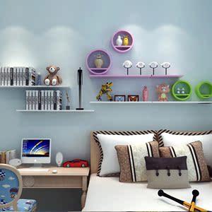 一字隔板置物架层板烤漆墙板壁挂搁板创意组合墙上置物架墙架搁架图片