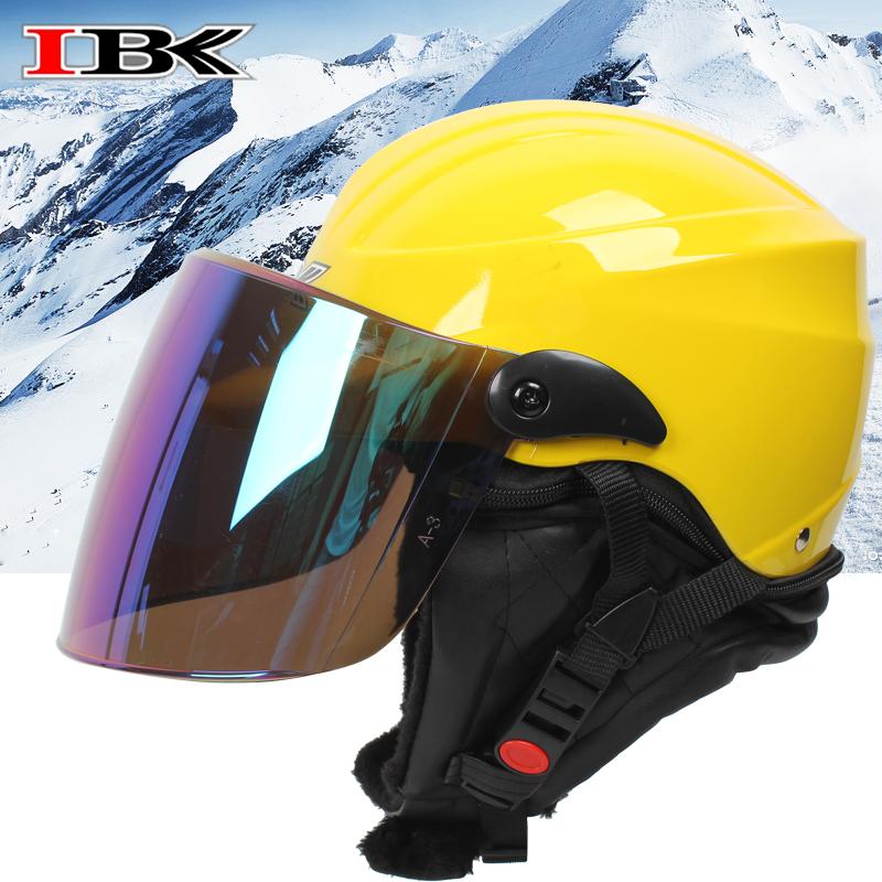 IBK电动车头盔女夏季防晒防紫外线摩托车安全帽男半盔四季通用