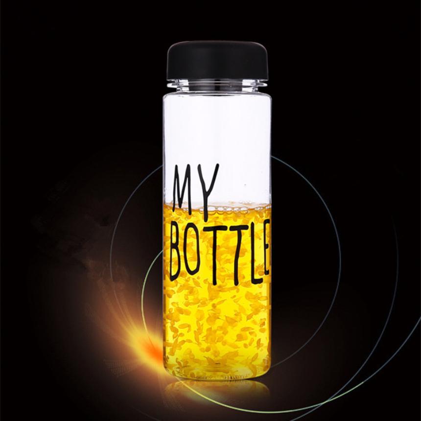 Сердечный подлинного mybottle Япония Корея письмо моя бутылка стаканы повернуть чашки чашки лимонного