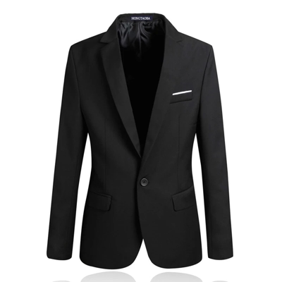 Spring models groomsmen young students Slim single small suit Korean version of casual men's suit jacket trend