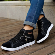 High spring new men to help the canvas shoes student leisure single shoes teenagers with flat shoes sneakers
