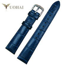 Swiss military watches strap Swiss he hanowa strap 17 mm blue leather belt