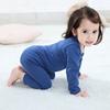 婴儿保暖套装宝宝秋衣秋裤套装纯棉上衣高腰护肚打底裤儿童内衣