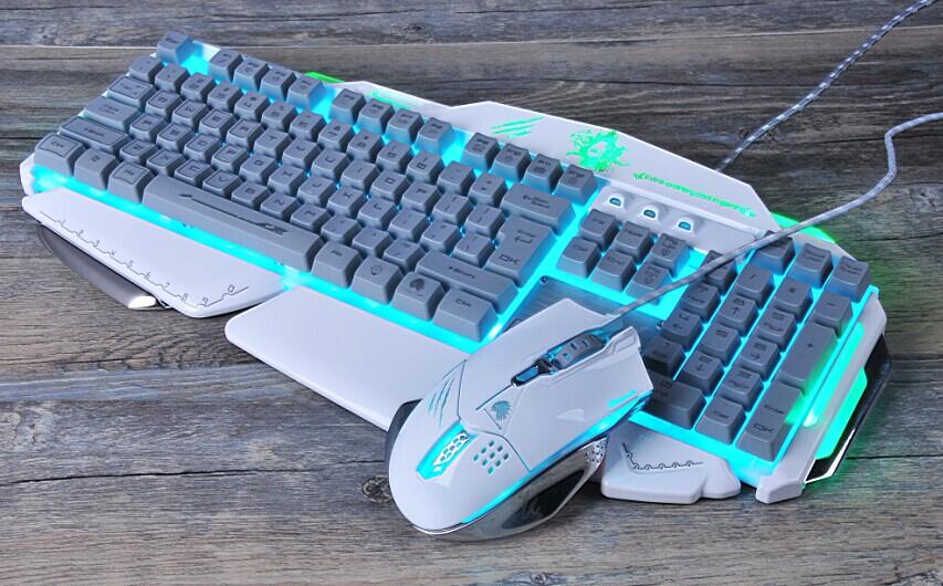磁动力ZK900-2网咖套装牛头人酋长印第安酋长网吧游戏键盘鼠标
