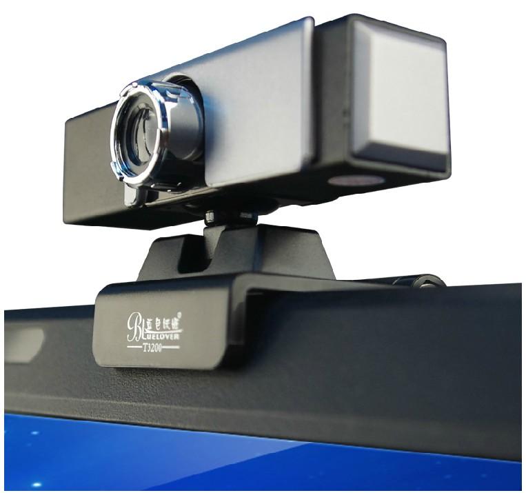 蓝色妖姬T3200电脑摄像头免驱高清带麦克风视频笔记本视屏正品