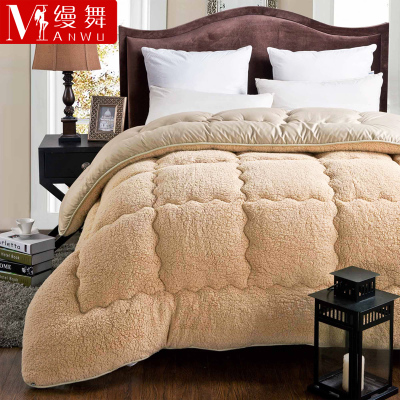 Unadorned dance cashmere thick quilt is the core warm winter quilt Special Children quilt single double student