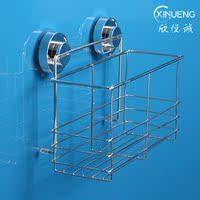 强力无痕吸盘壁式挂粘钩洗发水沐浴乳浴室厨房墙面玻璃置物整理架