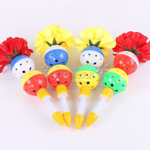 Olympic dance flower bell kindergarten early morning exercises plastic dumbbell props children gymnastics bracelet ring colorful toys