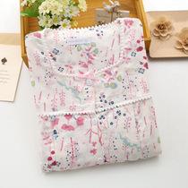 春夏季纯棉月子服双层纱布薄款孕妇产前产后睡衣喂奶衣哺乳套装