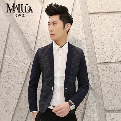 Malouda Autumn small suit men's casual men's fashion Slim suit suit jacket Korean men
