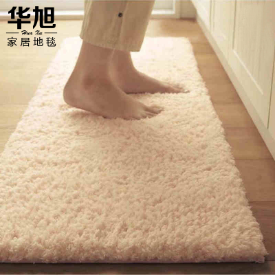 Hua Xu super soft thick pile carpet upscale bedroom bedside carpet shop windows and the room full of carpet floor mats couch couch cushion