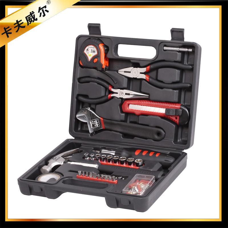 包邮 30件套家用工具组套 维修工具组合套装 多功能手动五金工具