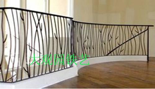厂家直销 铁艺栏杆 围栏 阳台栏杆 咖啡店装饰隔离杆 美式乡村图片