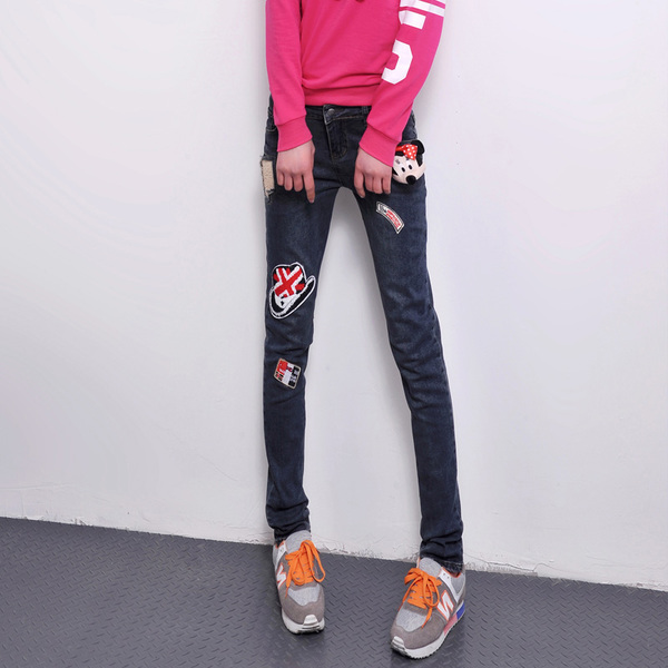 Ethnic feet female harem pants trousers 2014 new European style punk personality tide designer jeans pants collapse