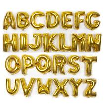 16寸铝膜球金色字母求婚庆婚房装饰派对用品派对装饰生日装饰用品
