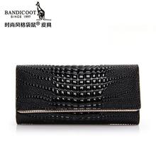 2015 kangaroos authentic purses Female long boom in Europe and America leather ladies handbags wallet wallet crocodile lines