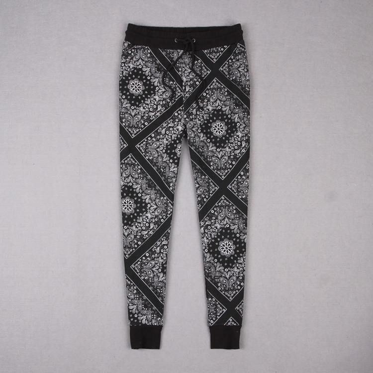 IN most elements of the trend 21 men produced cotton men hit color printing movement pattern jogging trousers