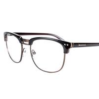 复古眼镜框黑框男潮大框个性女明星款眼镜架半框文艺斯文平光眼镜