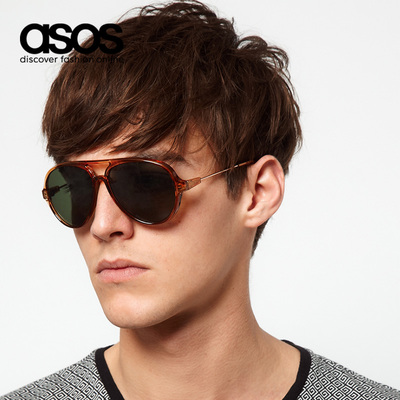 ASOS Men's new fashion aviator sunglasses sunglasses | 349219