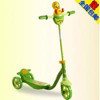 正品包邮好孩子小龙哈彼脚刹宝宝玩具滑板车携带方便安全可调节