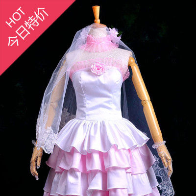 Masters VOCALOID Hatsune MIKU Hanayome wedding dress cos clothing custom