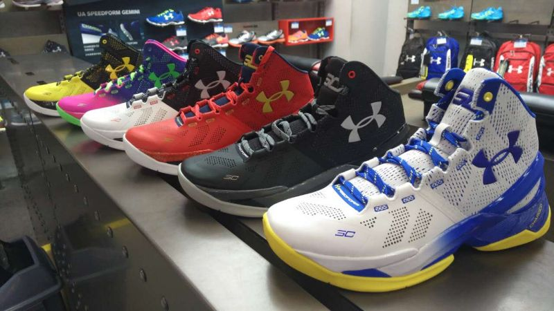 Under Armour 安德玛 CURRY TWO库里2 Dub Nation Home主场配色