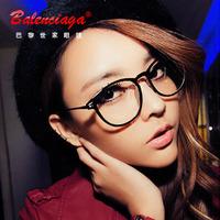 刘诗诗同款近视眼镜框架 女明星款板材全框超轻圆大框