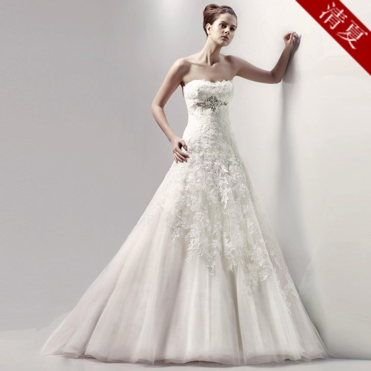 Свадебное платье S06 2014 Hunsha