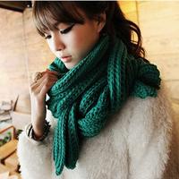 2015新款冬季长款女士围巾羊绒两面保暖加厚两用披肩