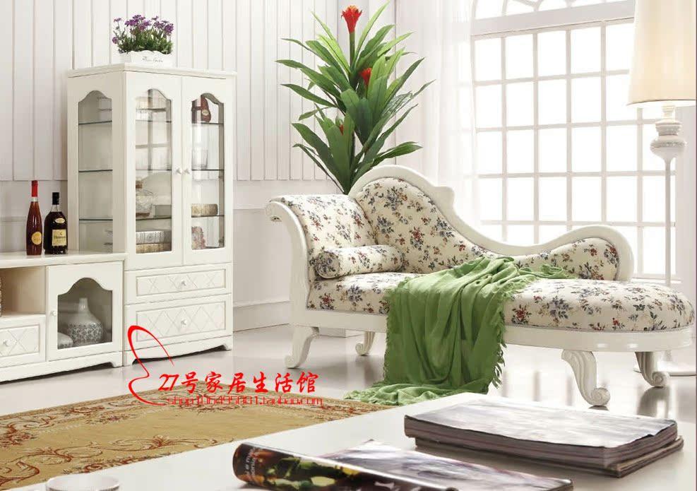 Кушетка рекамье Корейские Садовая мебель американская мебель мебель шезлонг шезлонг шезлонг диван диван Хан Бинбинг Леле дуб правый