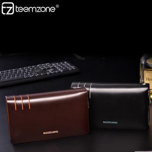 teemzone2014 手包 商务男士 手抓包 进口牛皮男包手拿包