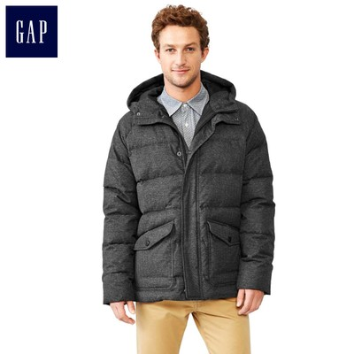 Gap wild solid color fashion warm down jacket | Men's 142324