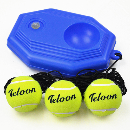 Free shipping authentic Dragon with a line single tennis tennis trainer holder base three balls to send a base
