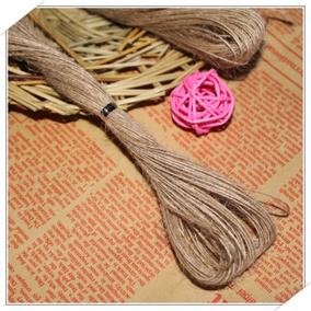 20m Jute Hemp Rope For Kraft Paper Gift Tags 麻绳礼物包装绳