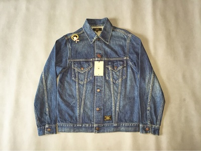 【售罄】WTAPS DENIM JK/JACKET.COTTON.DENIM 2015SS