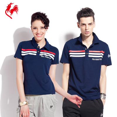 France Chicken summer thin cotton lapel casual sports men and women POLO short-sleeved t-shirt shirt Paul cock lovers