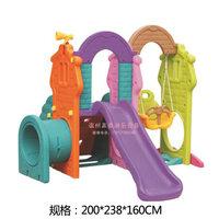 儿童室内滑梯加厚家用多功能宝宝滑滑梯梯秋千组合游乐玩具设备