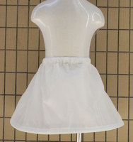 可调大小儿童花童晚礼服演出服加强蓬松度 无骨婚纱打底内衬裙撑