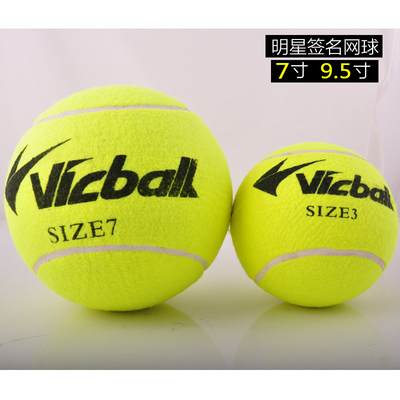 7 inch /9.5 inch Wei Kebo authentic autograph tennis great tennis Memorial tennis furnishings collection