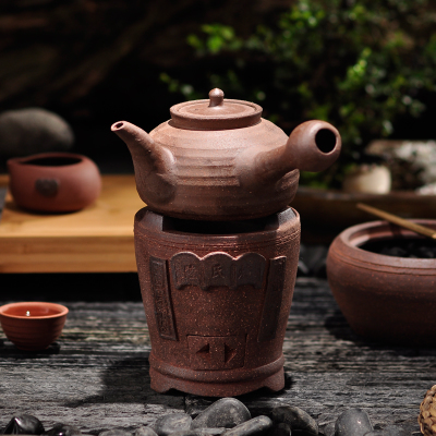 Small fire charcoal stove fang charcoal stove tea stove olive carbon furnace sand Diao alcohol wind furnace seed cooking pot wooden tea service spare parts