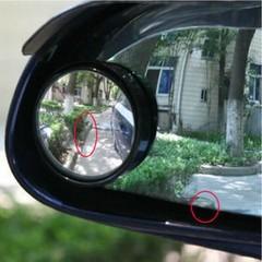 汽车倒车镜后视镜小圆镜盲点广角镜车用可调节辅助镜反光镜照地镜