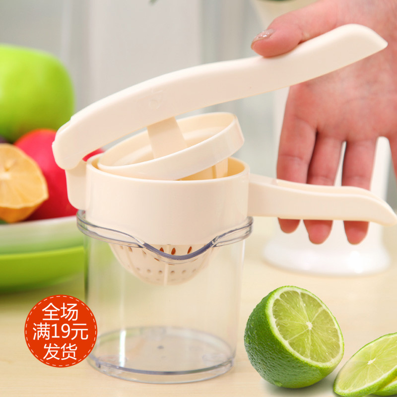 kitchen creative manually oranges watermelon lemon fruit and vegetables combined plastic juice machine manual juicer