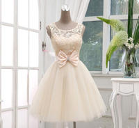 伴娘礼服短款结婚红色晚礼服新娘敬酒服蕾丝小礼服冬季车展演出服