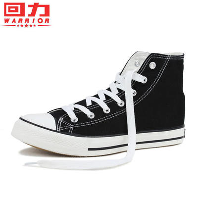 Pull back the classic high-top canvas shoes couple shoes Korean version of Tide men shoes student shoes casual shoes 473