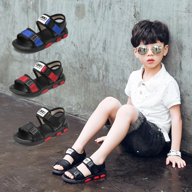 男童凉鞋2017童鞋夏季新款儿童沙滩鞋中大童防滑童凉鞋韩版学生鞋