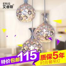 现代简约时尚餐厅灯卧室灯三头餐吊灯 饭厅灯 铝材灯具4DD0367E