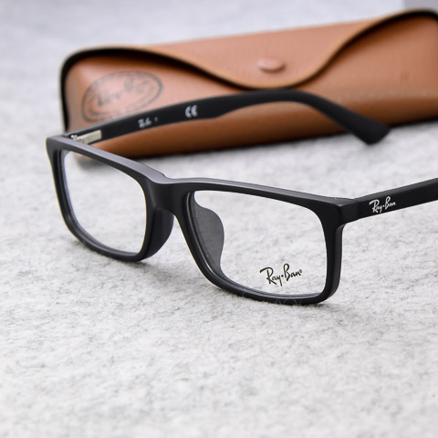Authentic RayBan Ray-Ban glasses frame plate glasses frame black men ...