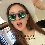 64a6cc6ba3 USD  72.55  2015 models wildfox wild fox sunglasses female star with a round  face and color film polarized