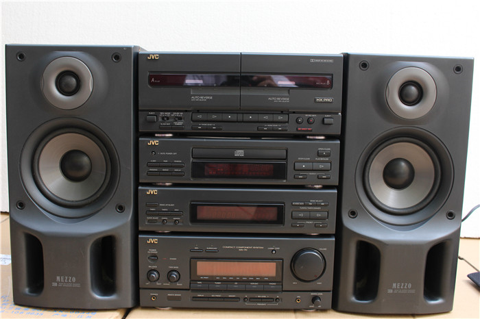 Japan Imported Second Hand Stereo JVC MX 70 High Grade Fever Bookshelf Zuheyinxiang Loading Zoom