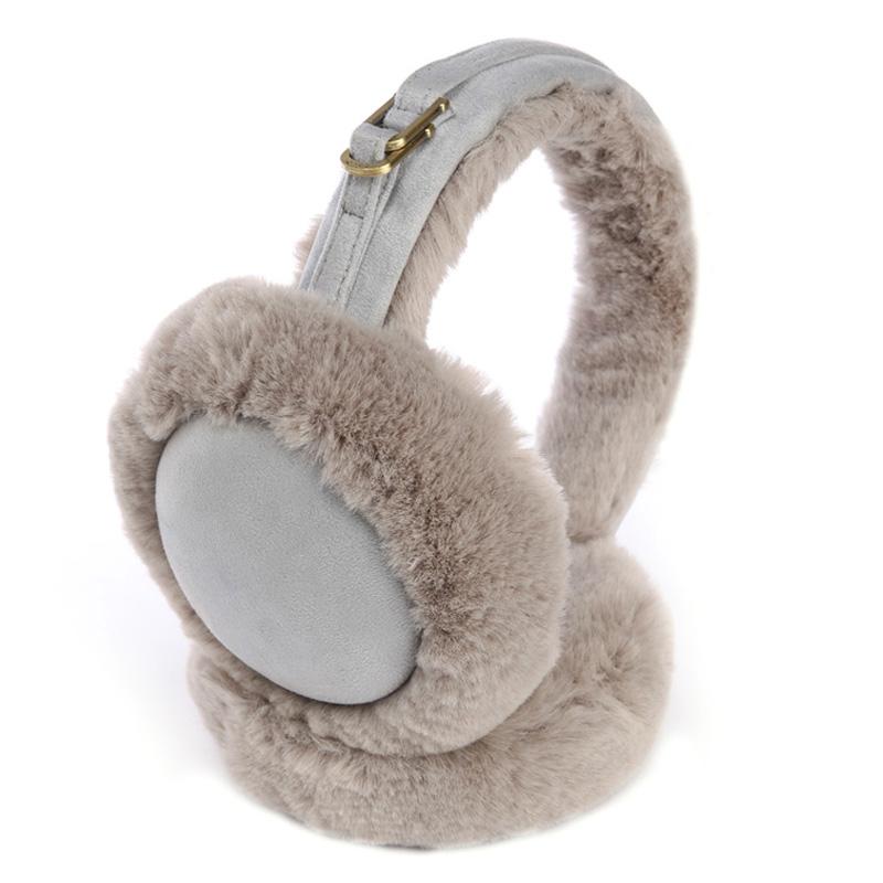 秋冬韩版仿皮毛一体男女耳罩可折叠厚保暖防寒护耳包防风耳暖EZ31